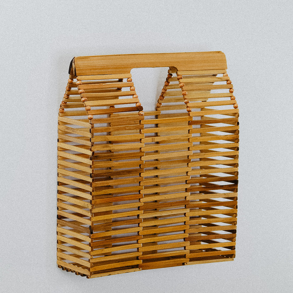 Straight Bamboo Bag