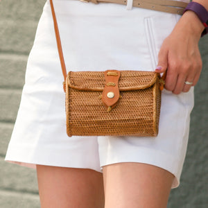 Ran - Small Wallet Rattan Bag
