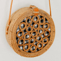 The Pineapple Rattan Bag