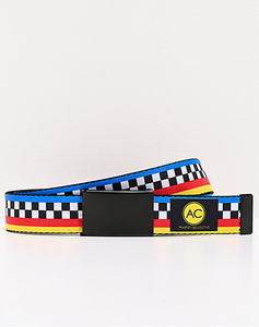 Artist Collective Colorblock Web Belt