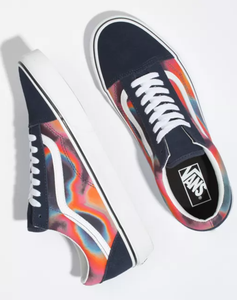 Vans old skool TYE Blue Girl