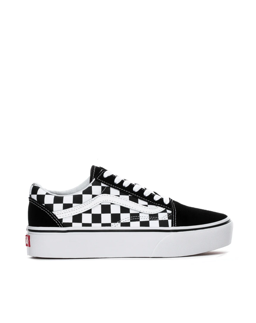 Vans Old Skool Checkered Platform