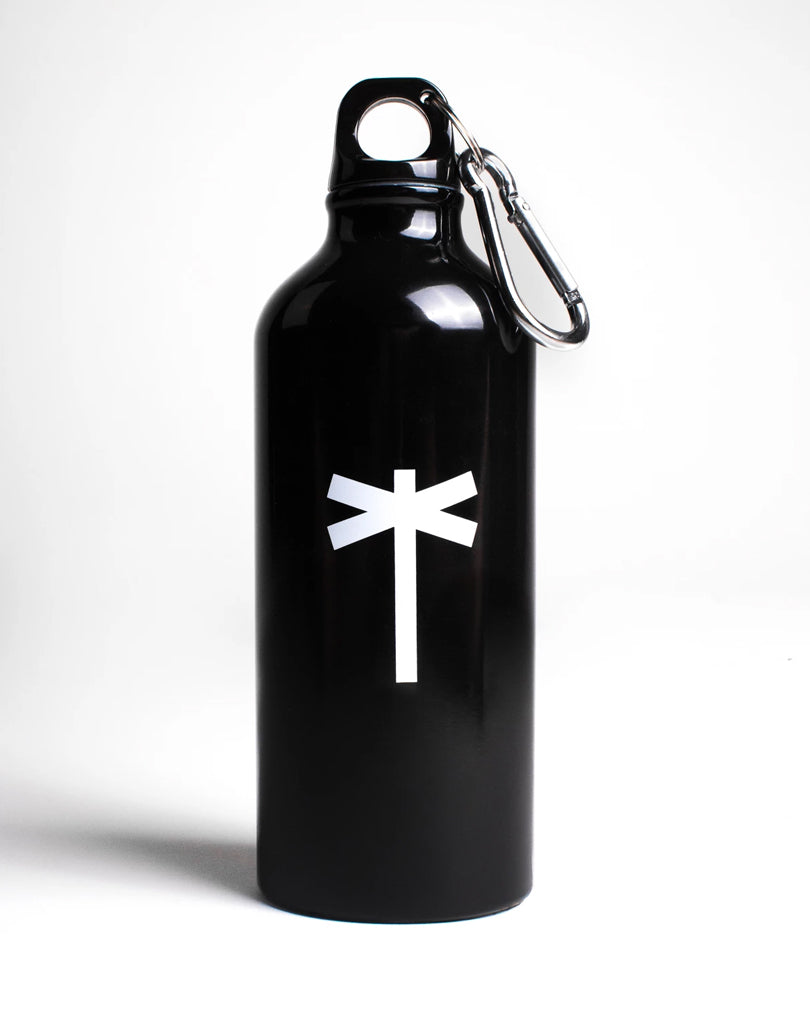 PalmEraMia Black Aluminum Bottle