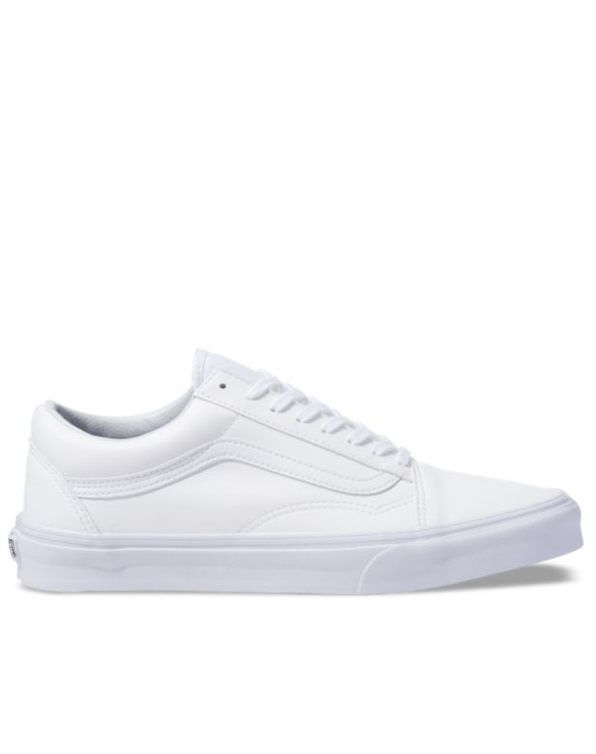 Vans old skool Classic tumble Leather white
