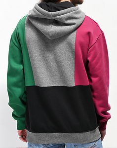 Empyre Green & Black Colorblock Hoodie