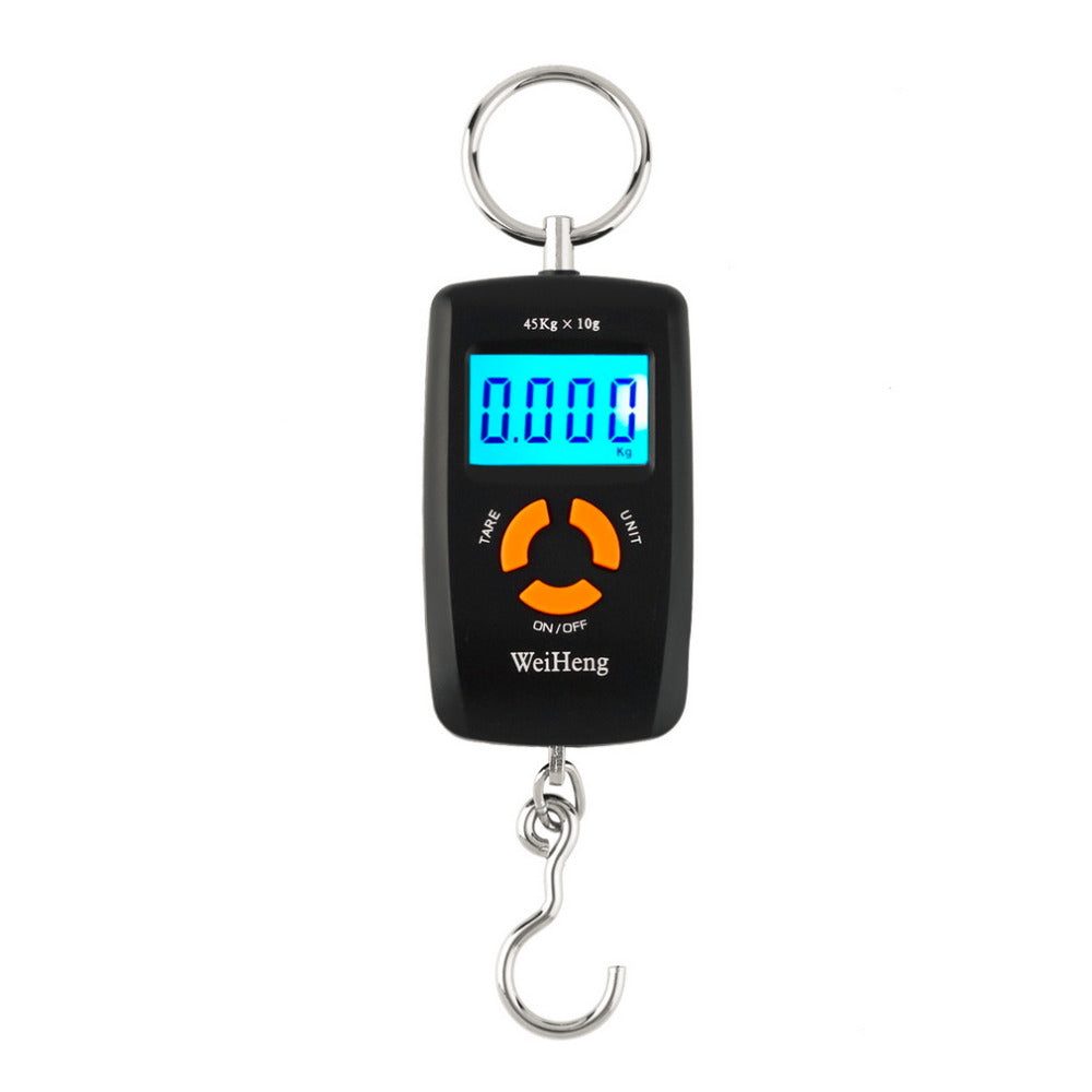 Electronic LCD Digital Pocket Scale Luggage Hanging Fishing Hook Balance Scale lb oz kg 45kg/10g  Drop Shipping