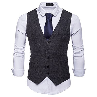 Suit Vest Raymond Reddington The Blacklist Fashion solid
