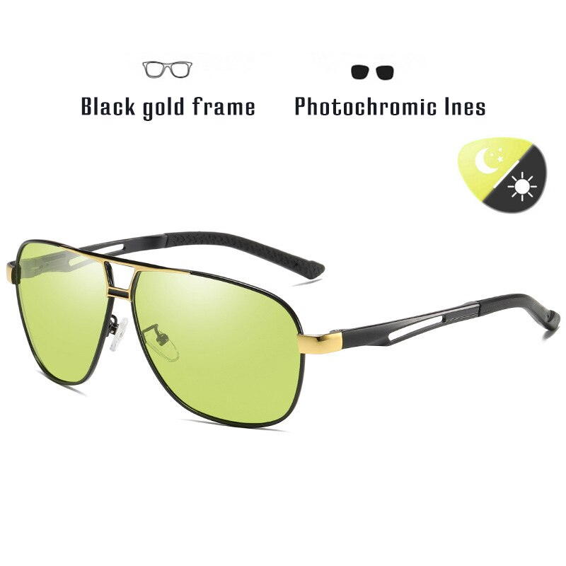2019 Photochromic Sunglasses Polarized Day & Night Vision Driving UV400