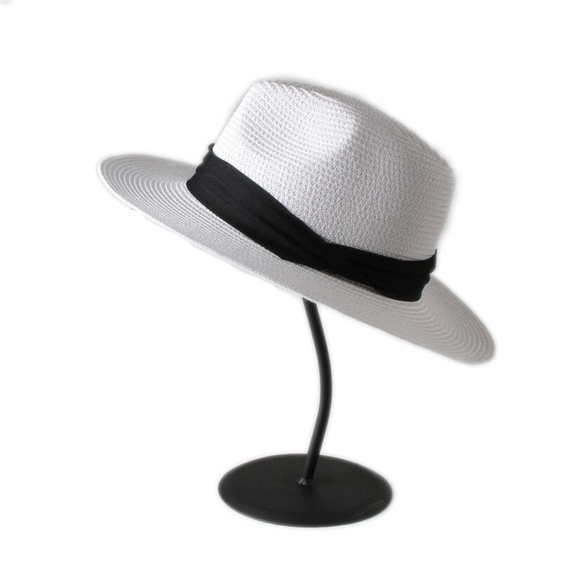 Fashion Raymond Reddington Straw Panama Fedora Hat The Blacklist Character