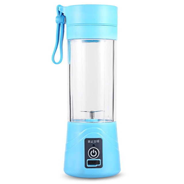 Portable Juice Blender 400ml USB Cup Multi-function Fruit