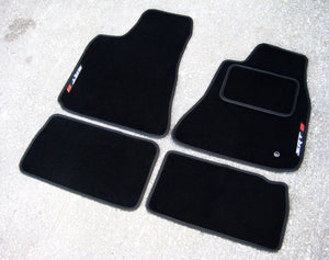 Chrysler 300C Touring (2006-2010) Tailored Logo Car Mats + SRT8 Logos
