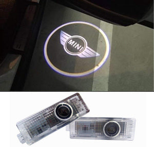 Inlink 2 Piece Car Door Logo Projector Light