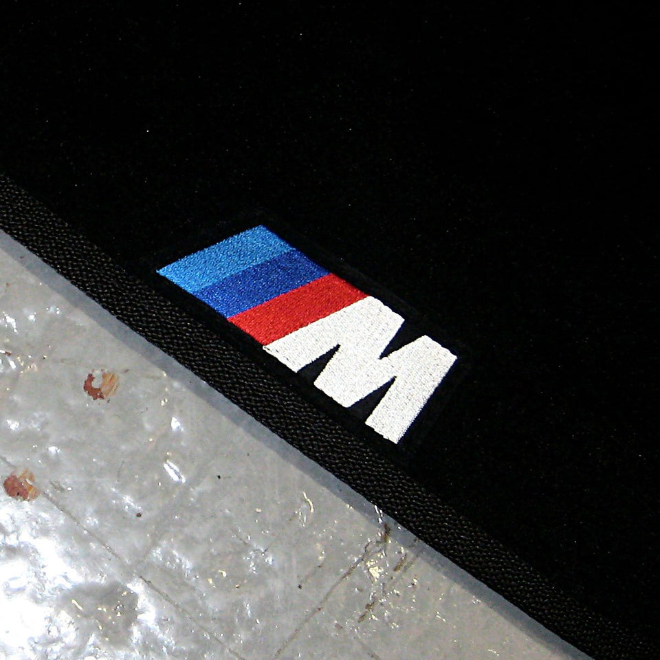 BMW 3 Series E46 Touring (1999-2005) Tailored Logo Car Mats + M Sport Logos