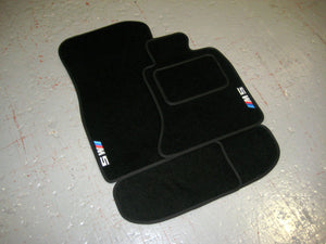 BMW M5 E60 Saloon (2005-2010) Tailored Logo Car Mats + M5 Logos