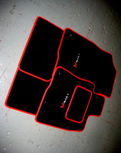 Honda Civic Type R FK2 (2015-2017) Tailored Logo Car Mats + Type R Logos