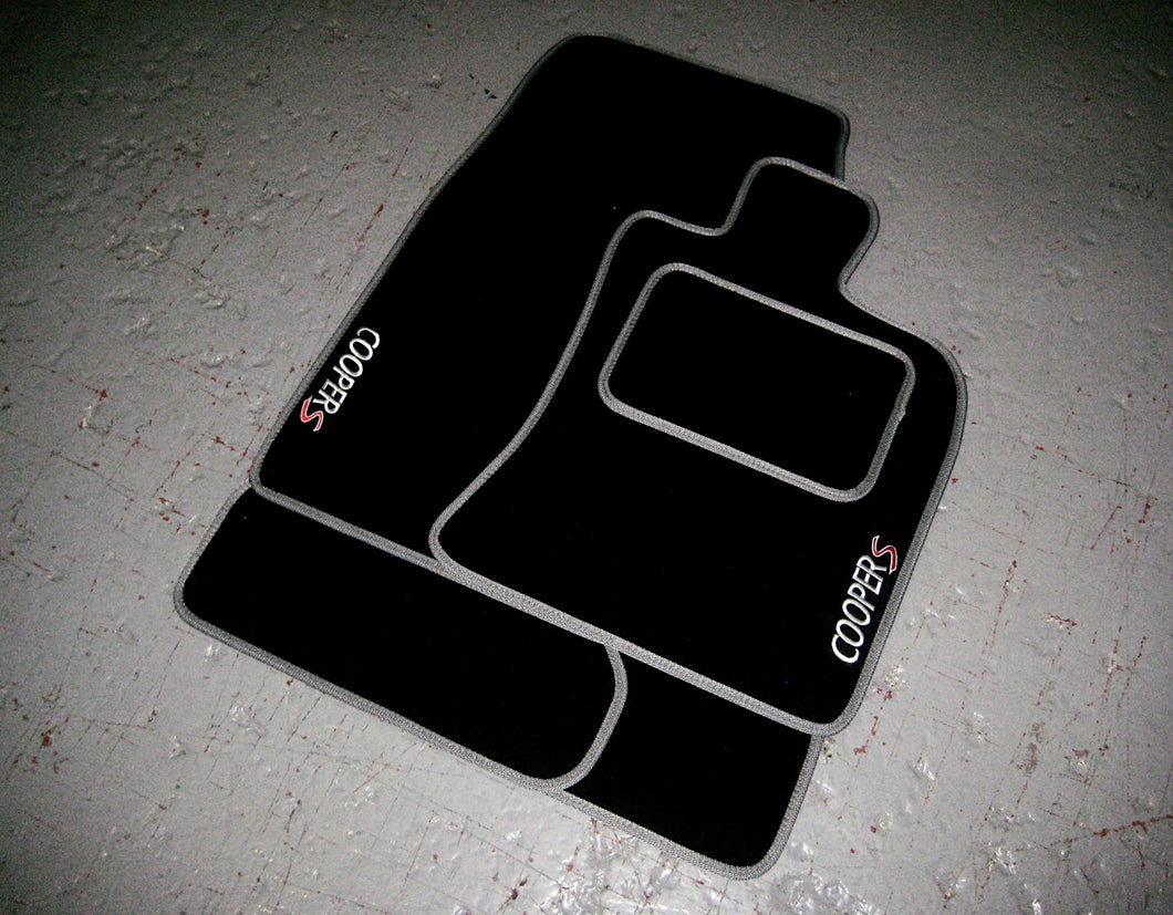 Mini Clubman R55 (2007-2014) Tailored Car Mats + Cooper S Logos