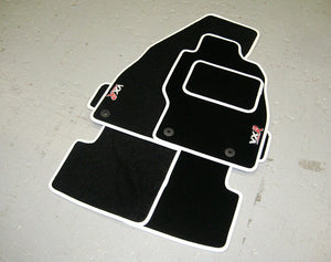 Vauxhall Corsa D VXR (2007-2014) Tailored Logo Car Mats + VXR Logos