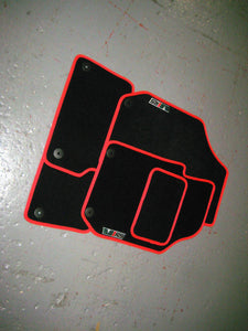 Skoda Fabia VRS (2010-2014) Tailored Logo Car Mats + VRS Logos