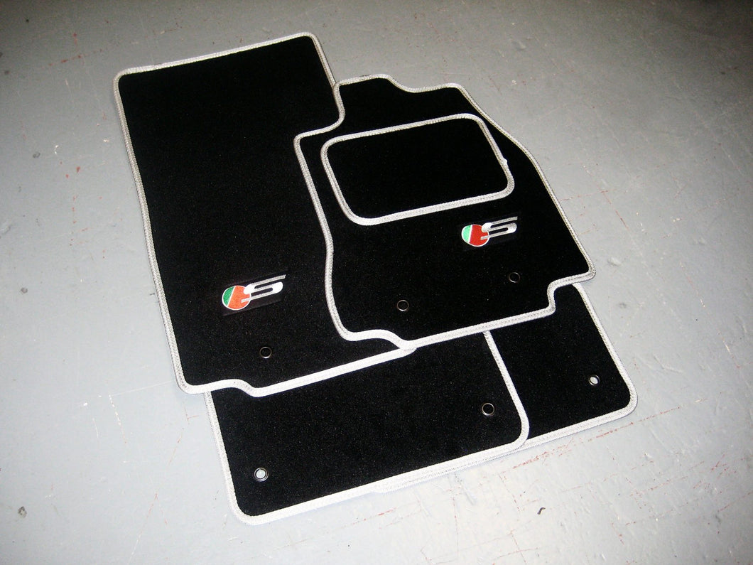 Jaguar XF Saloon (2015-Present) Tailored Logo Car Mats + Jaguar S Logos