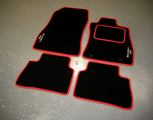 Nissan Juke Nismo RS (2014-Present) Tailored Logo Car Mats + Nismo RS Logos