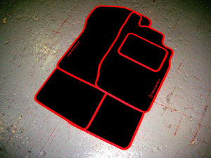 Mercedes-Benz CLK Convertible (2003-2009) Tailored Logo Car Mats + Mercedes-Benz Logos