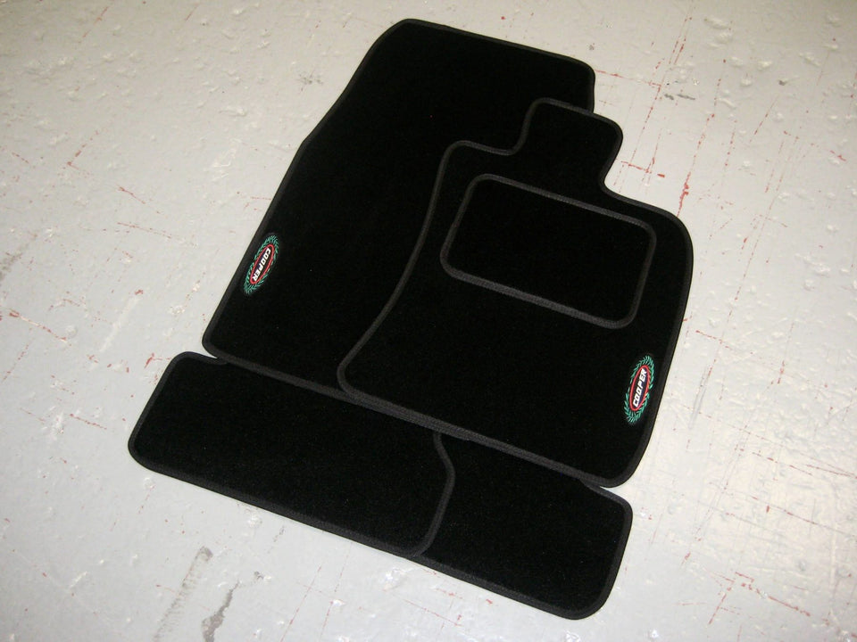 Mini Cooper F55/F56 (2014-Present) Tailored Car Mats + Cooper Logos
