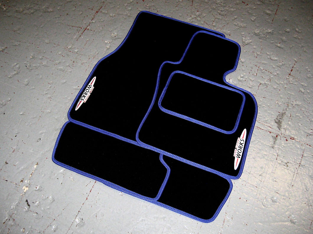 Mini Hatch R56 JCW (2006-2014) Tailored Car Mats + John Cooper Works Logos