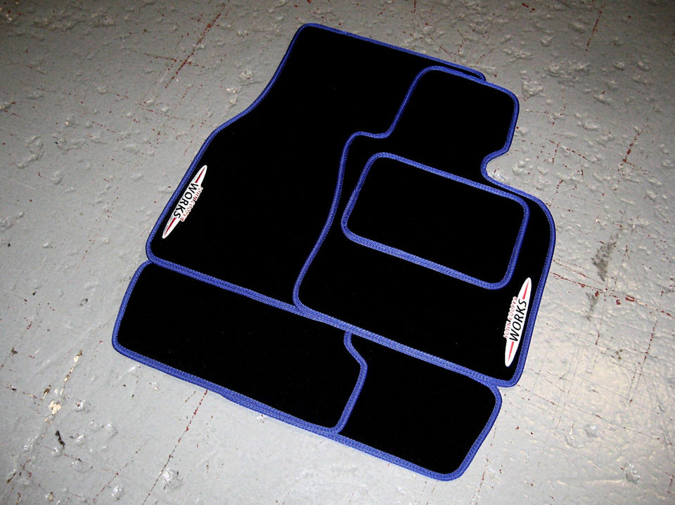 Mini Hatch F55/F56 JCW (2014 on) Tailored Car Mats + John Cooper Works Logos