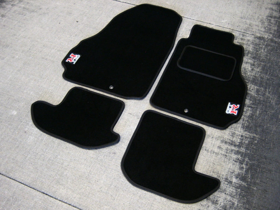 Nissan GT-R (2007-Present) Tailored Logo Car Mats + GTR Logos