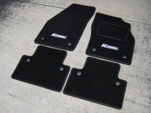 Volvo C30 (2006-2013) Tailored Logo Car Mats + R Design Logos