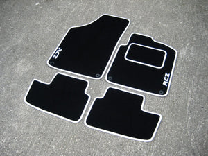 Peugeot RCZ (2010-2015) Tailored Logo Car Mats + RCZ Logos