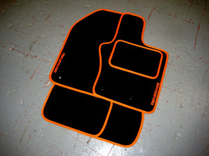 Jeep Renegade (2014-Present) Tailored Logo Car Mats + Renegade Logos