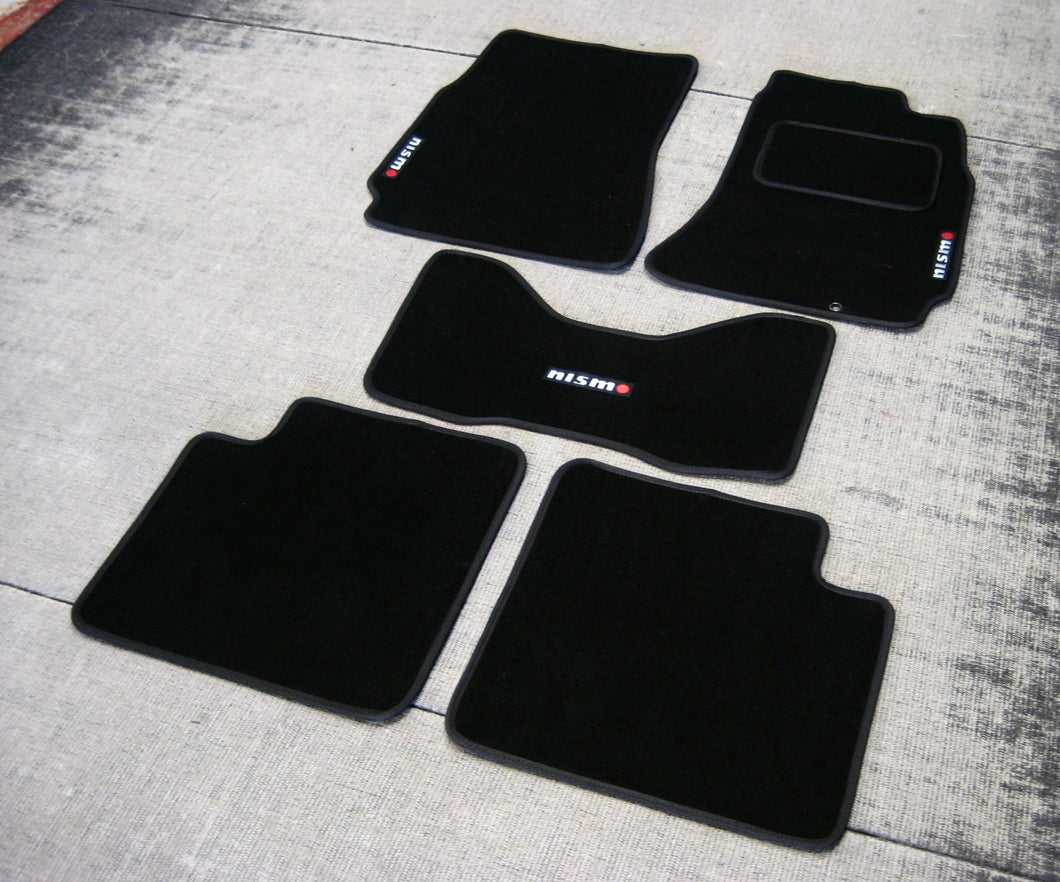 Nissan Skyline R32 (1989-1994) Tailored Logo Car Mats + Nismo Logos