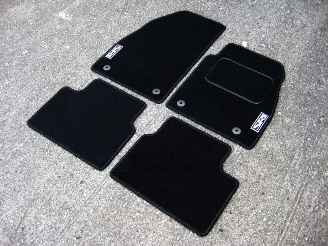 Vauxhall Vectra (2002-2009) Tailored Logo Car Mats + SRi Logos