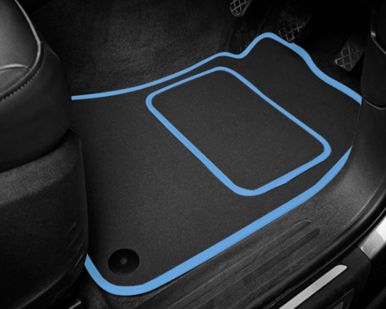 BMW X2 F39 (2018-Present) Tailored Logo Car Mats + M Sport Logos
