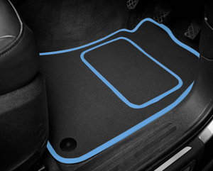 BMW M4 F82 Coupe (2014-Present) Tailored Logo Car Mats + M4 Logos