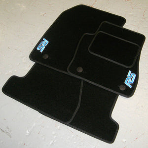Ford Focus RS MK1 (2002-2003) Tailored Logo Car Mats + RS Logos