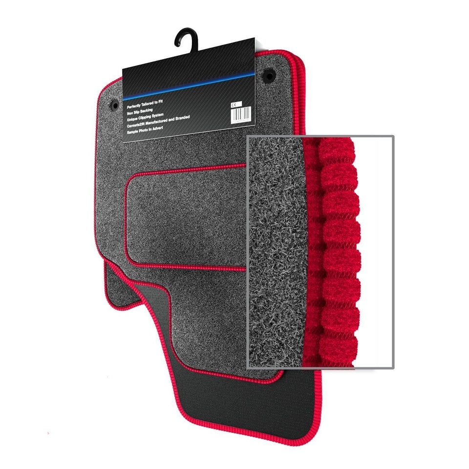 Kia Rio MK1 (2001-2004) Custom Carpet Car Mats
