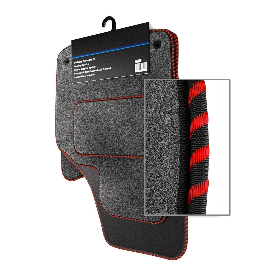 Audi A8 D3 (2003-2010) Custom Carpet Car Mats