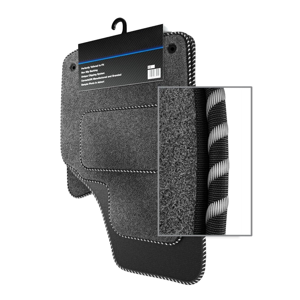 Volkswagen Golf Plus MK5 (Round Clip) (2006-present) Custom Carpet Car Mats
