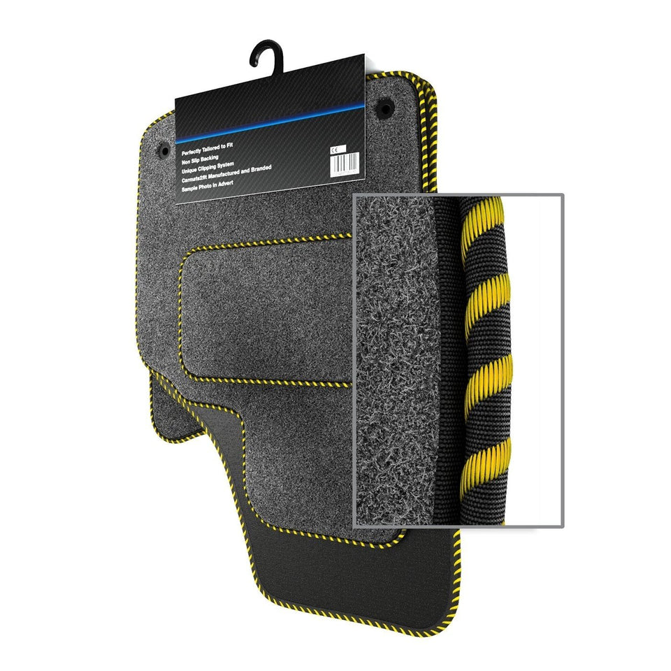 Ford Fiesta MK7 Facelift (2013-2017) Custom Carpet Car Mats