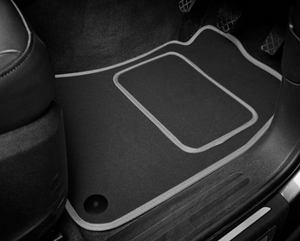 DS 5 (2015-Present) Tailored Logo Car Mats + DS Performance Logos