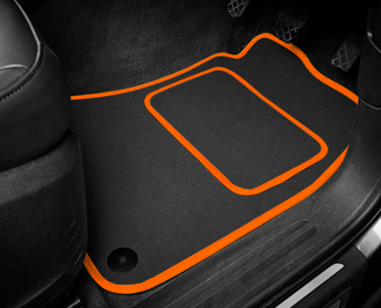 Peugeot 308 Hatchback (2013-Present) Tailored Logo Car Mats + GT Line Logos