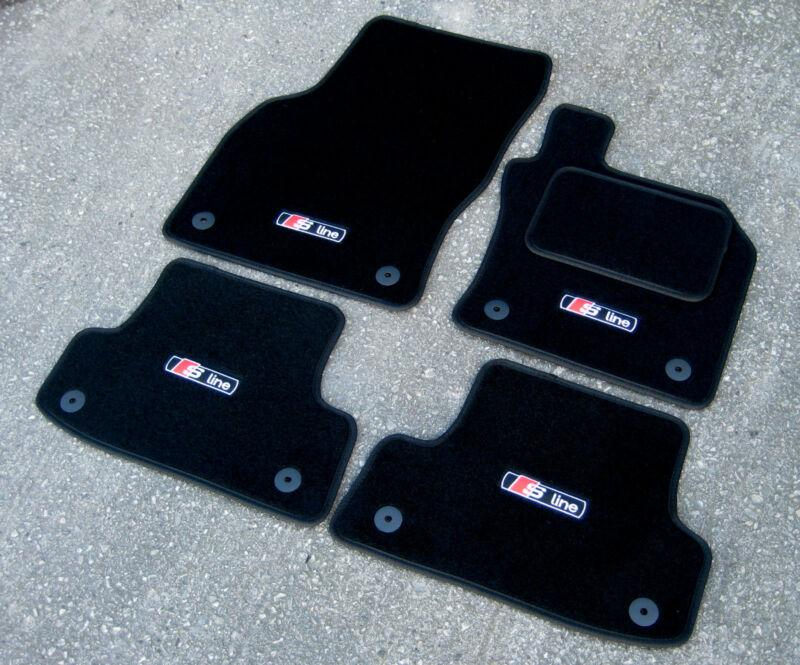 Car Mats in Black to fit Audi A3 Car Mats 8V (2012 on) +