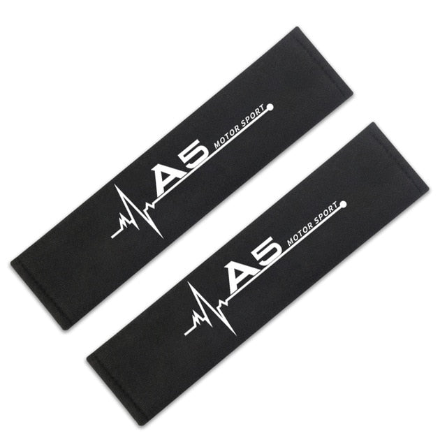 Car Styling Interior Decoration Seat belt shoulder cover for Audi A4 B6 B8 B7 A6 C5 C6 C7 A3 A5 Q3 Q5 Q7 accessories Car Styling