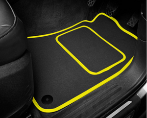 Jaguar XF Saloon (2015-Present) Tailored Logo Car Mats + R-Sport Logos