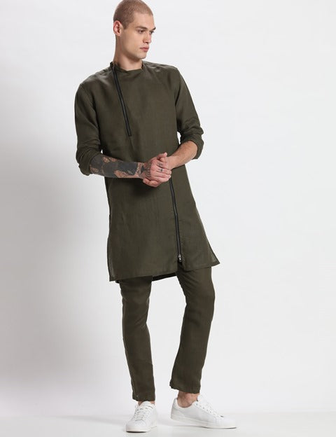 Ivy - Kurta-Mens Kurta-SON OF A NOBEL SNOB-6degree.store