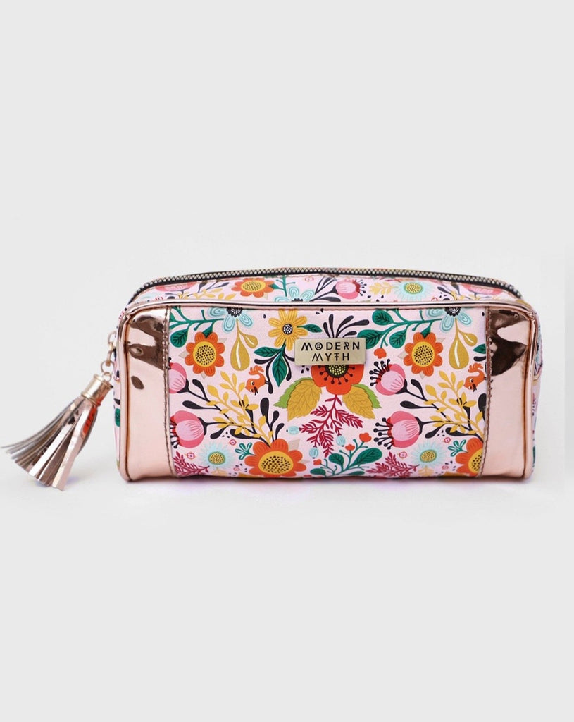 Floral Blooms Rosegold Multi-Purpose-Accessories-MODERN MYTH-6degree.store