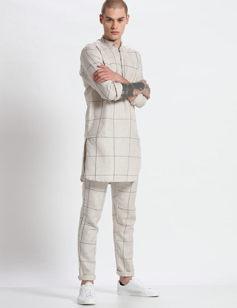 Sherwood Printed Kurta-Mens Kurta-SON OF A NOBEL SNOB-6degree.store