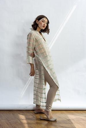 Mint Anastasia Straight Kurta With Slip-Kurta-NESOLO-6degree.store